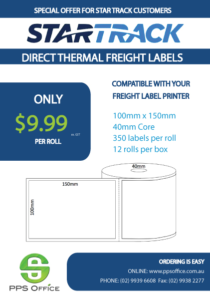 featured-STAR TRACK Direct Thermal Labels - 102x150mm